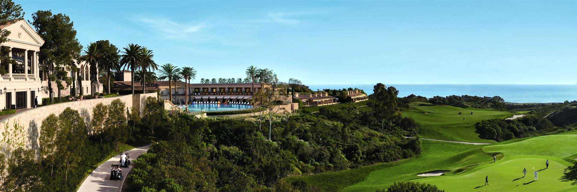 Pelican Hill - Newport Beach, CA: Oceanview Bungalow/Villa - Oceanside golf and breakfast with Resort Credit  for $489 per person, per day!