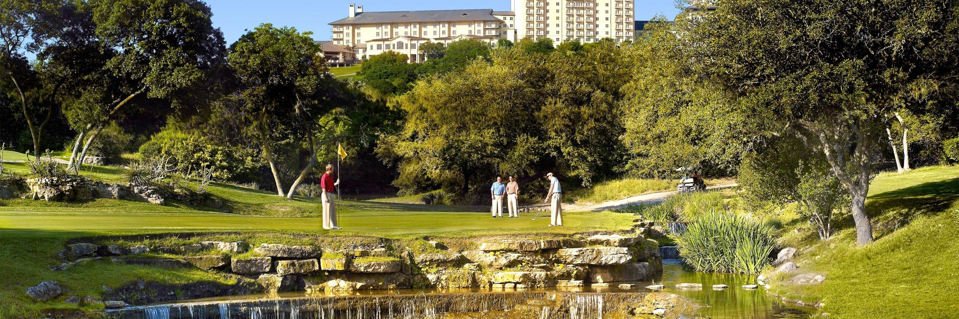 Austin / Barton Creek Golf, TX: Texas' #1 Golf Resort - Unlimited Golf Stay & Play with breakfast for $229 per person, per day!