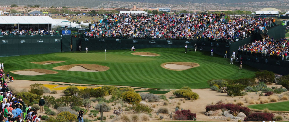"Golf Vacation Package - Phoenix Open - ""Greatest Show on Grass"" Stay and Play at $199 per person, per day!"