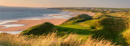 South West Ireland Stay and Play - 5 Nights / 4 Rounds + Minivan for $1495!