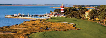 Play where the Pro's Play at The Sea Pines Resort for $268 per person, per day!